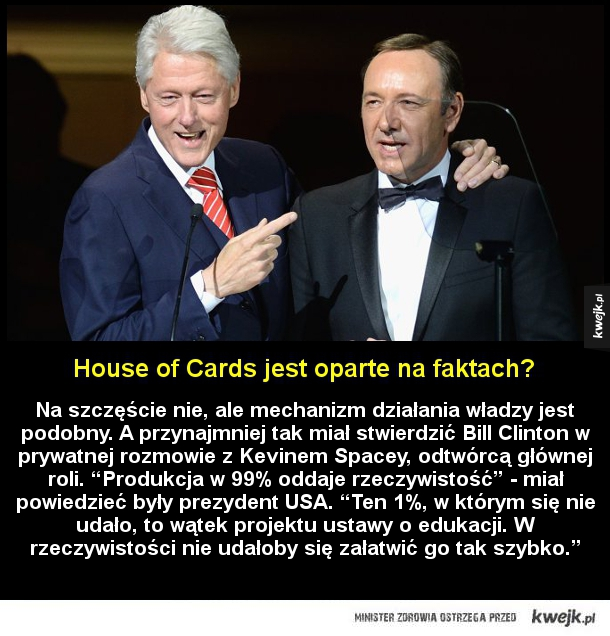 House of Cards oparte na faktach?