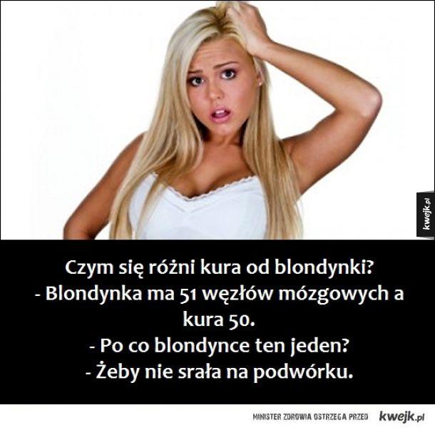 Kawały o blondynkach, które poprawią humor każdemu