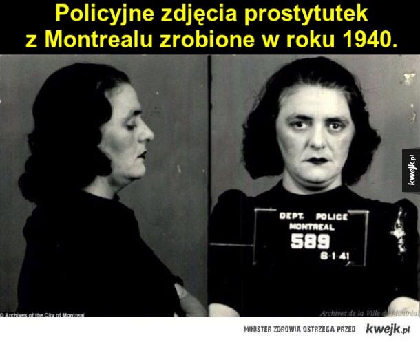 Zdjęcia prostytutek z 1940 roku
