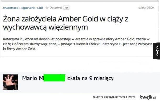 Amber niespodzianka