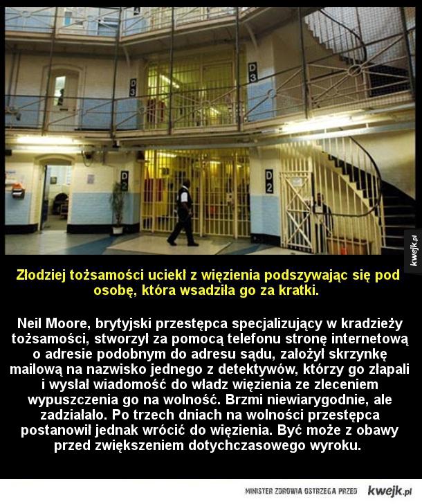 Brawurowa ucieczka z więzienia