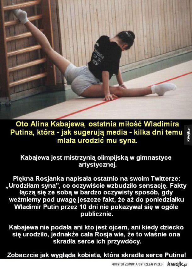 Alina Kabajewa - kobieta, która rozkochała w sobie Putina