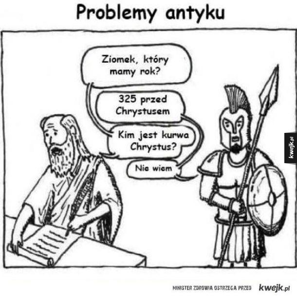 Problemy antyku
