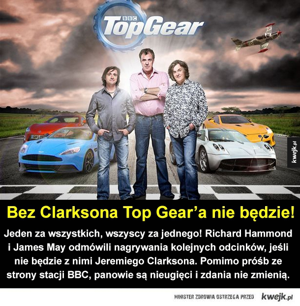 Koniec Top Gear'a!