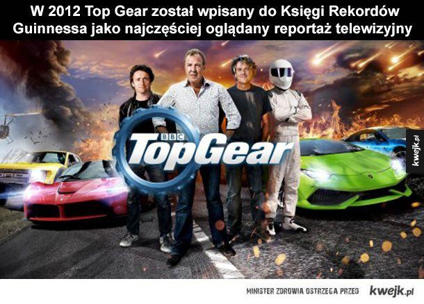 Garść ciekawostek o Top Gear
