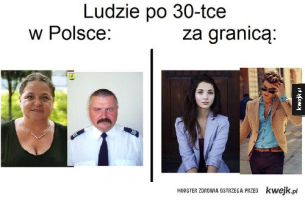 Polska vs reszta świata