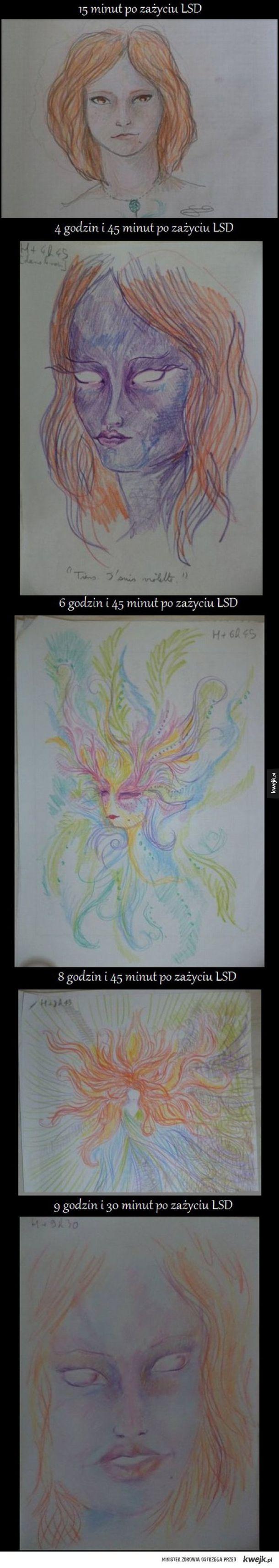 LSD i jego wpływ na twórczość