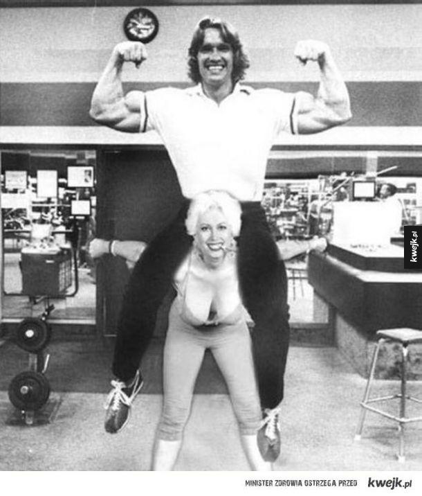 Bardzo rzadkie zdjęcia Arnolda Schwarzeneggera
