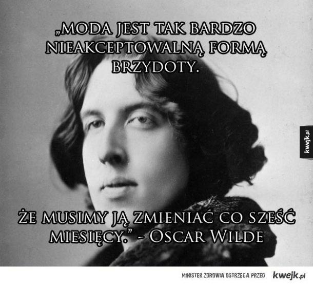 Genialne cytaty Oscara Wilde'a