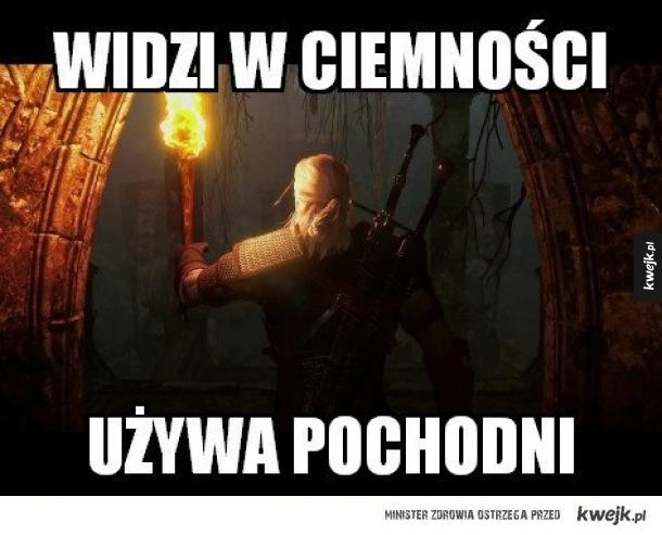 Typowy Geralt