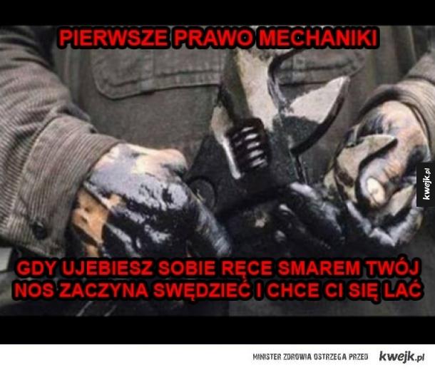 Prawo mechaniki