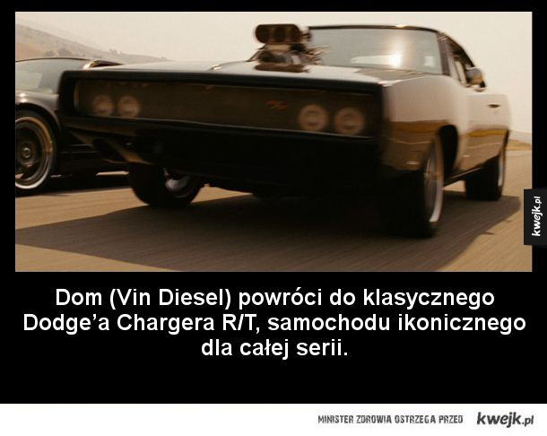 Te auta pojawią się w najnowszej odsłonie Fast and Furious