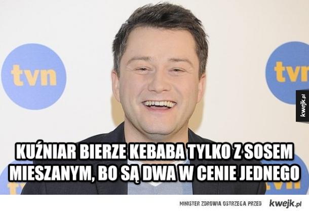 Najlepsze memy z Jarosławem Kuźniarem