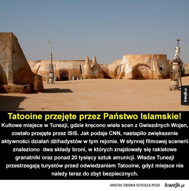 Państwo Islamskie zaatakowało Tatooine!