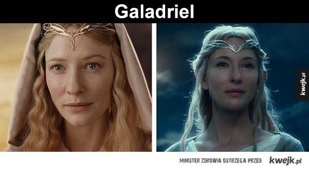 Jak zmieniły się elfy ze Śródziemia