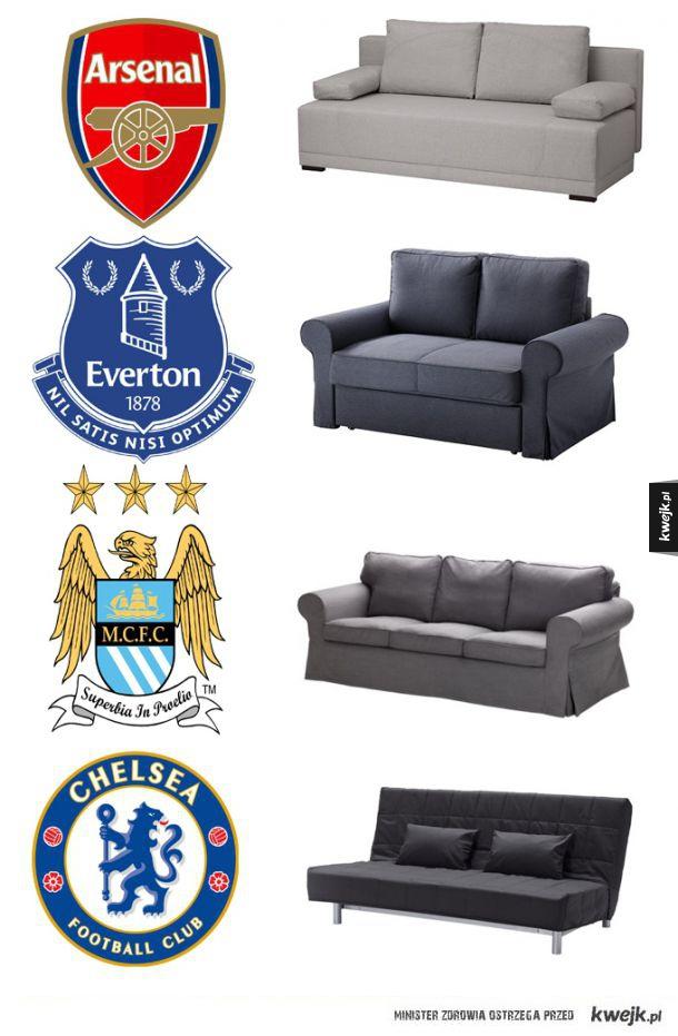 Angielskie kluby