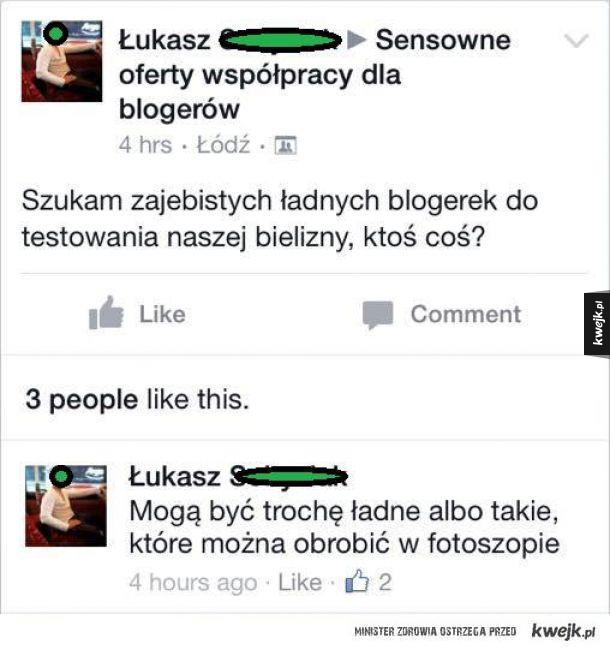 Ładne blogerki wtf?