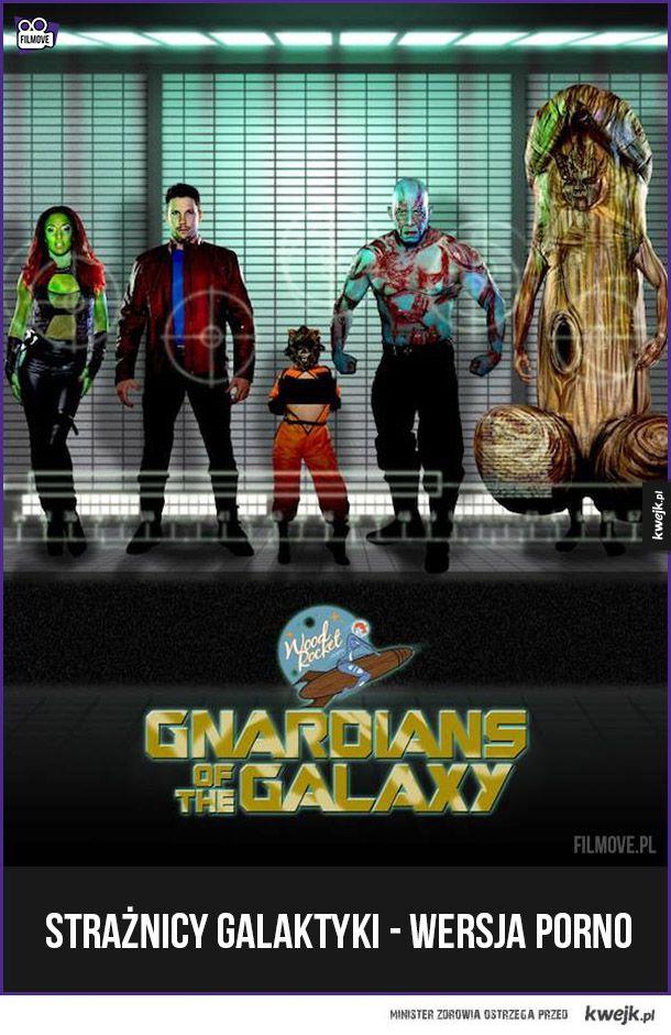 Strażnicy galaktyki wersja dla dorosłych