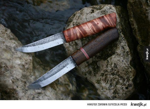 Najpiękniejsze noże zrobione na zamówienie