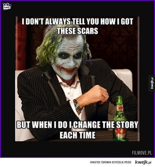 Joker i jego blizny