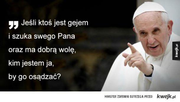 Papież Franciszek Ministerstwo śmiesznych Obrazków Kwejkpl