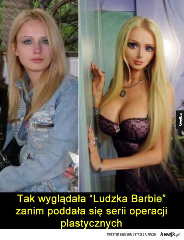 Ludzka Barbie
