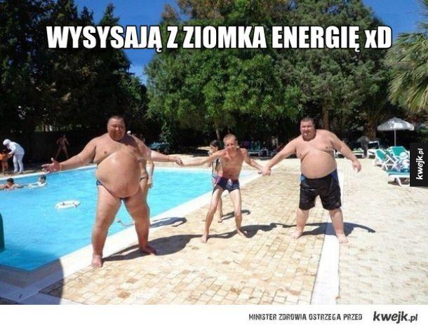Wysysanie energii