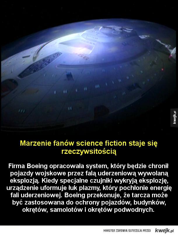 Marzenie fanów science fiction staje się rzeczywsitością