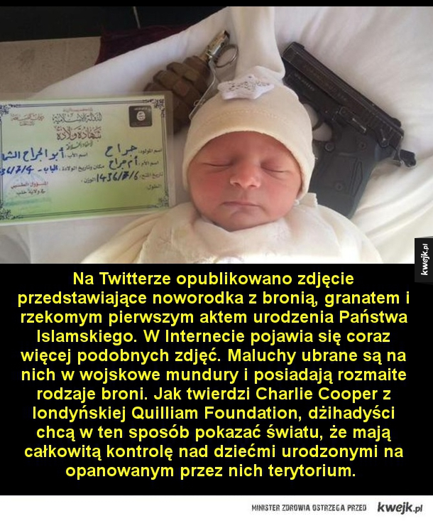 Dżihad niemowlaków