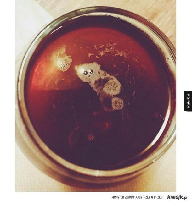Lemur w kawie