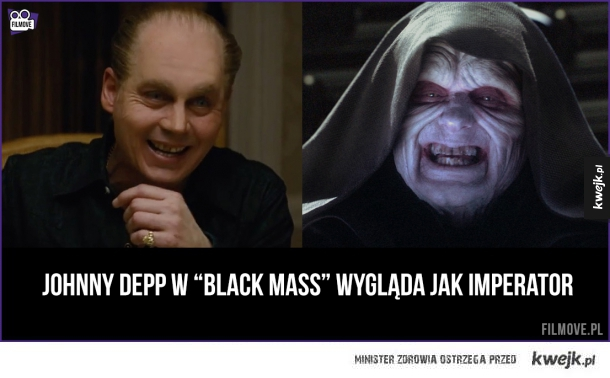 Johnny Depp jak Imperator