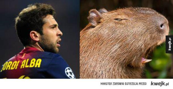 Też uważacie, że Jordi Alba ma jakąś taką rybią twarz?
