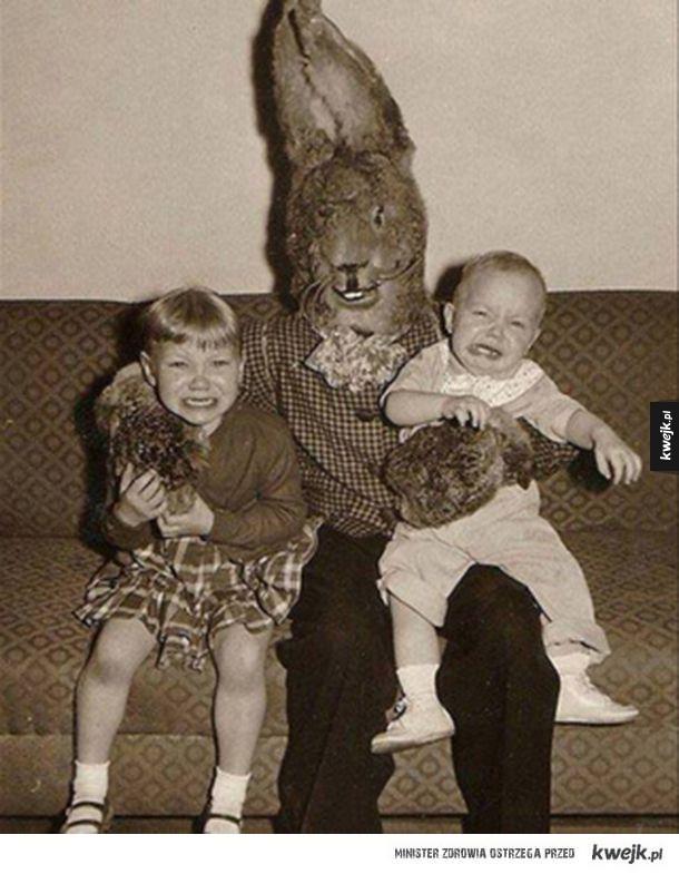 Przerażające króliczki wielkanocne
