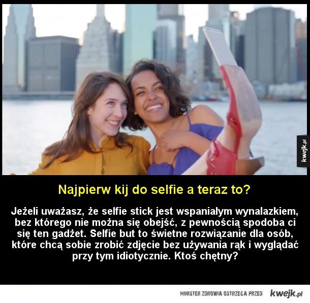 Gadżet dla miłośników selfie