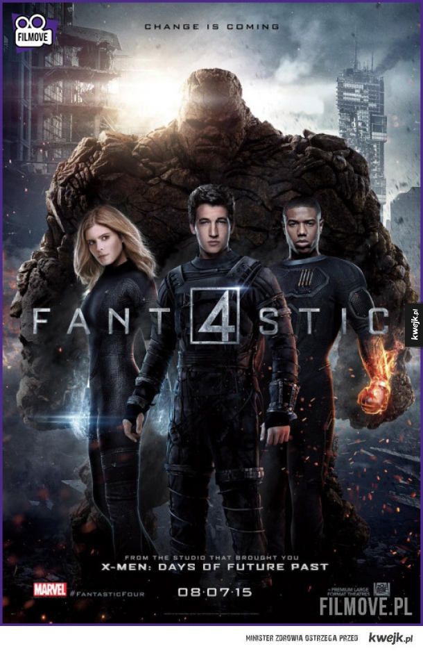 Fantastic Four - oficjalny plakat