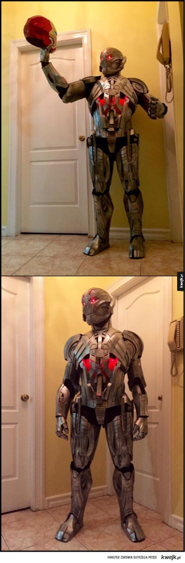 Ultron cosplay