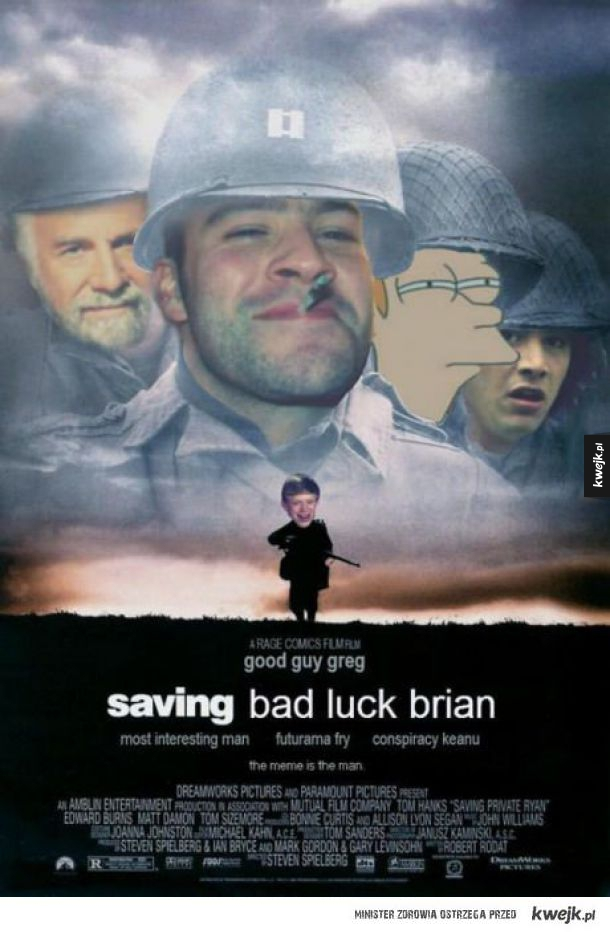 Saving Bad Luck Brian :D