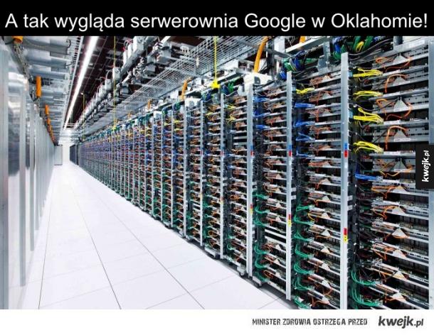 Serwerownia Google
