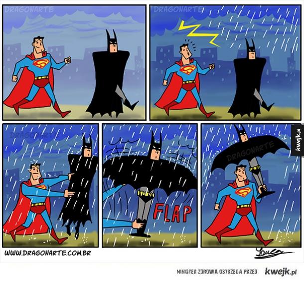 Problemy superbohaterów.