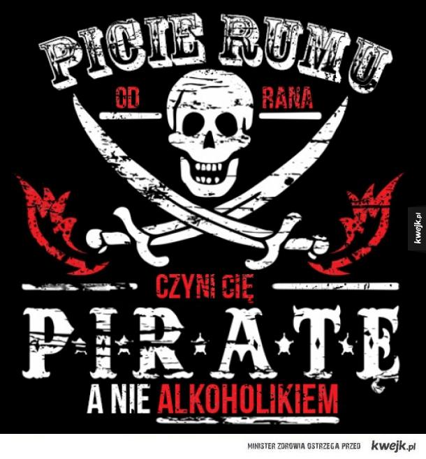 Jestę piratę
