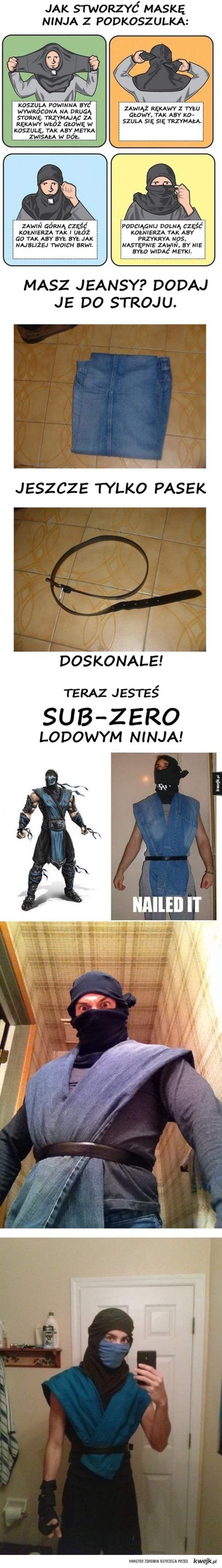 Zostań ninja