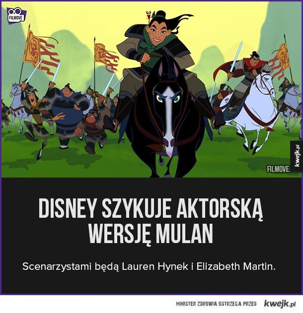 Mulan - wersja aktorska