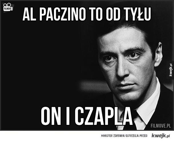 Al Pacino od tyłu