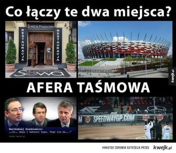 Memy po Grand Prix w Warszawie - Co łączy te dwa miejsca? Afera taśmowa