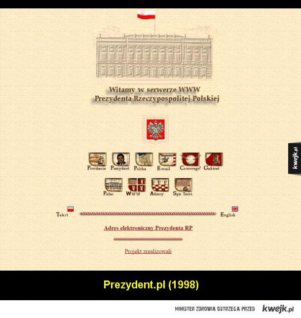 Tak kiedyś wyglądał polski Internet