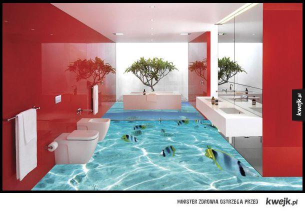 Niesamowicie wyglądające podłogi 3D