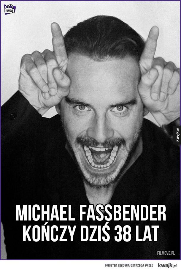Michael Fassbender kończy dziś 38 lat!