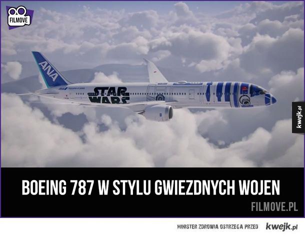 Samolot w stylu Star Wars