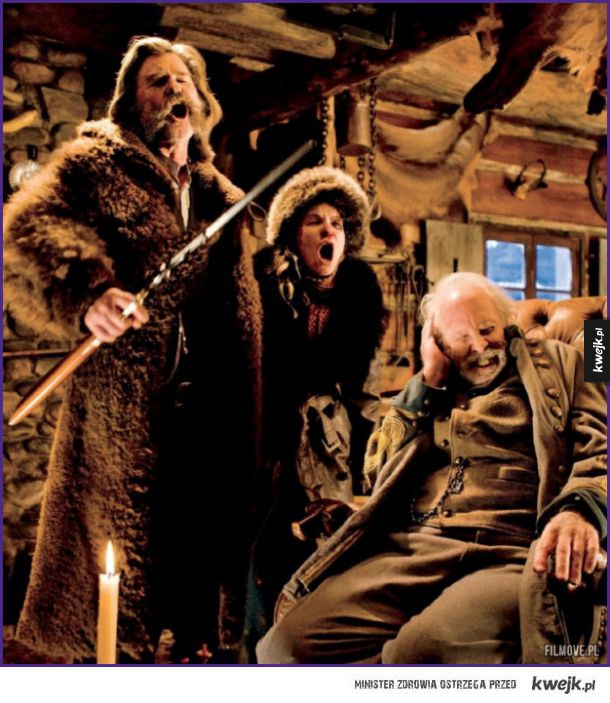 Zdjęcia z planu nowego filmu Tarantino - The Hateful Eight
