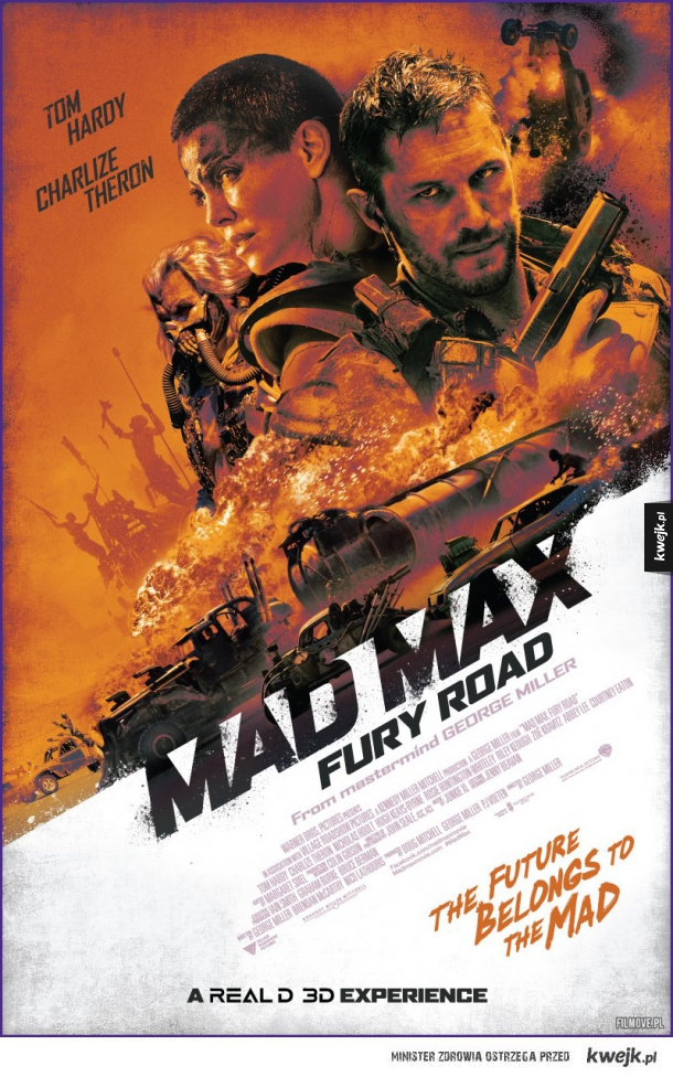 Mad Max: Fury Road - oficjalny plakat